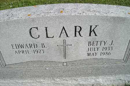 CLARK, BETTY J. - Hanson County, South Dakota | BETTY J. CLARK - South Dakota Gravestone Photos