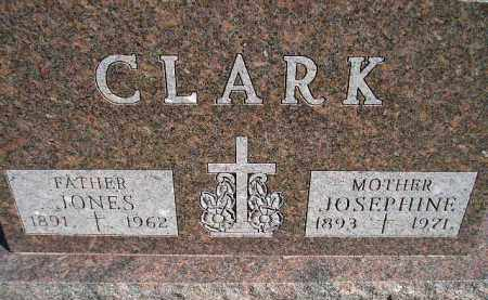 CLARK, JONES - Hanson County, South Dakota   JONES CLARK - South Dakota Gravestone Photos