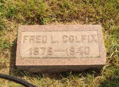 COLFIX, FRED L. - Hanson County, South Dakota | FRED L. COLFIX - South Dakota Gravestone Photos