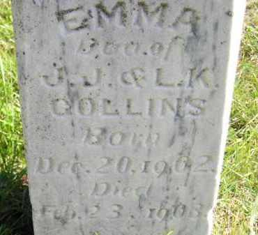 COLLINS, EMMA - Hanson County, South Dakota | EMMA COLLINS - South Dakota Gravestone Photos