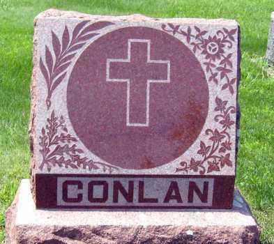 CONLAN, FAMILY STONE - Hanson County, South Dakota | FAMILY STONE CONLAN - South Dakota Gravestone Photos