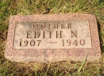 CREEK, EDITH N. - Hanson County, South Dakota | EDITH N. CREEK - South Dakota Gravestone Photos