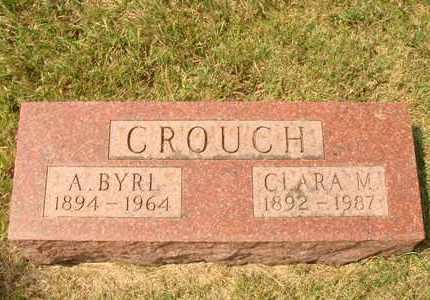 CROUCH, CLARA M. - Hanson County, South Dakota | CLARA M. CROUCH - South Dakota Gravestone Photos