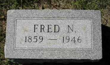 DEXTER, FRED N. - Hanson County, South Dakota   FRED N. DEXTER - South Dakota Gravestone Photos