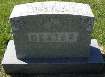 DEXTER, FAMILY STONE - Hanson County, South Dakota   FAMILY STONE DEXTER - South Dakota Gravestone Photos