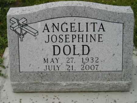 DOLD, ANGELITA JOSEPHINE - Hanson County, South Dakota | ANGELITA JOSEPHINE DOLD - South Dakota Gravestone Photos