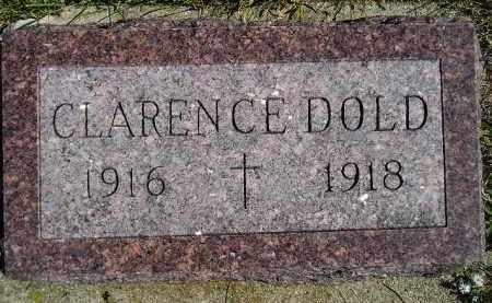 DOLD, CLARENCE - Hanson County, South Dakota   CLARENCE DOLD - South Dakota Gravestone Photos