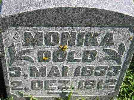 DOLD, MONIKA - Hanson County, South Dakota | MONIKA DOLD - South Dakota Gravestone Photos