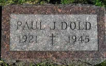 DOLD, PAUL J. - Hanson County, South Dakota | PAUL J. DOLD - South Dakota Gravestone Photos