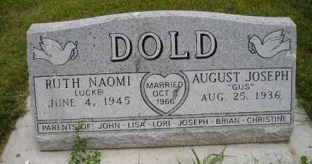 LUCKE DOLD, RUTH NAOMI - Hanson County, South Dakota | RUTH NAOMI LUCKE DOLD - South Dakota Gravestone Photos