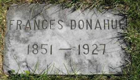 DONAHUE, FRANCES - Hanson County, South Dakota | FRANCES DONAHUE - South Dakota Gravestone Photos