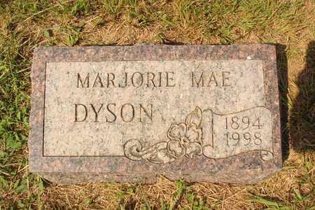 DYSON, MARJORIE MAE - Hanson County, South Dakota | MARJORIE MAE DYSON - South Dakota Gravestone Photos