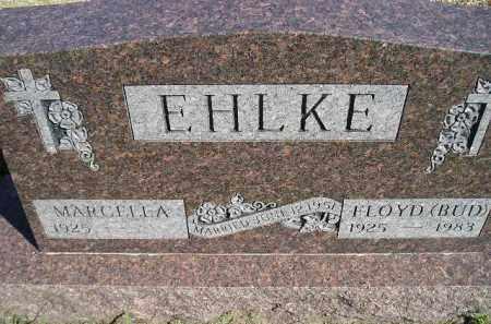 "EHLKE, FLOYD ""BUD"" - Hanson County, South Dakota | FLOYD ""BUD"" EHLKE - South Dakota Gravestone Photos"