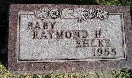 EHLKE, RAYMOND H. - Hanson County, South Dakota | RAYMOND H. EHLKE - South Dakota Gravestone Photos