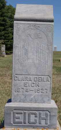 EICH, CLARA DEILA - Hanson County, South Dakota | CLARA DEILA EICH - South Dakota Gravestone Photos