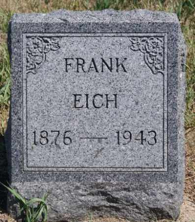 EICH, FRANK - Hanson County, South Dakota | FRANK EICH - South Dakota Gravestone Photos