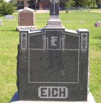 EICH, FAMILY STONE - Hanson County, South Dakota | FAMILY STONE EICH - South Dakota Gravestone Photos
