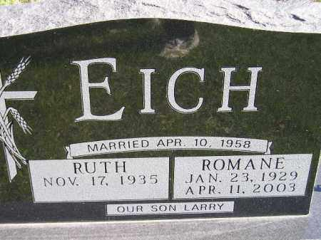 EICH, ROMANE - Hanson County, South Dakota | ROMANE EICH - South Dakota Gravestone Photos