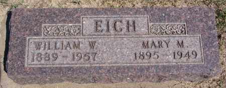 EICH, MARY M - Hanson County, South Dakota | MARY M EICH - South Dakota Gravestone Photos