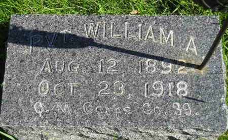 EICH, WILLIAM A. - Hanson County, South Dakota   WILLIAM A. EICH - South Dakota Gravestone Photos