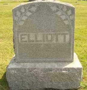 ELLIOTT, FAMILY MARKER - Hanson County, South Dakota | FAMILY MARKER ELLIOTT - South Dakota Gravestone Photos