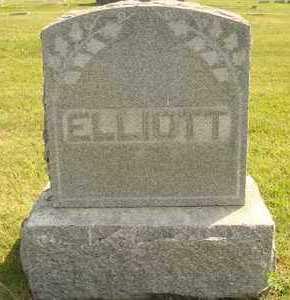 ELLIOTT, FAMILY MARKER - Hanson County, South Dakota | FAMILY MARKER ELLIOTT - South Dakota Gravestone Photos