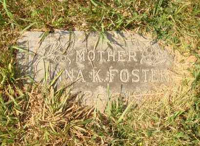 FOSTER, ANNA K. - Hanson County, South Dakota | ANNA K. FOSTER - South Dakota Gravestone Photos