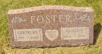 FOSTER, GERTRUDE - Hanson County, South Dakota | GERTRUDE FOSTER - South Dakota Gravestone Photos