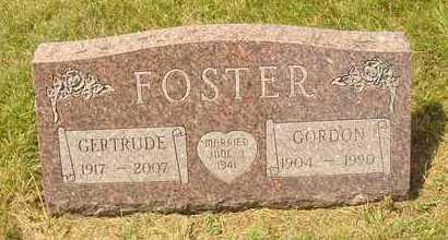 FOSTER, GERTRUDE - Hanson County, South Dakota | GERTRUDE FOSTER - South Dakota Gravestone Photos