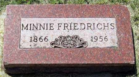 FRIEDRICHS, MINNIE - Hanson County, South Dakota | MINNIE FRIEDRICHS - South Dakota Gravestone Photos