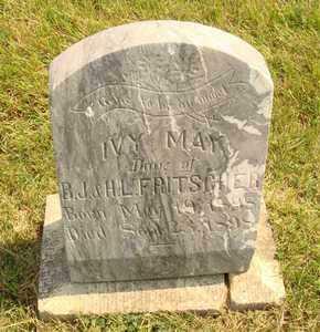FRITSCHER, IVY MAY - Hanson County, South Dakota | IVY MAY FRITSCHER - South Dakota Gravestone Photos