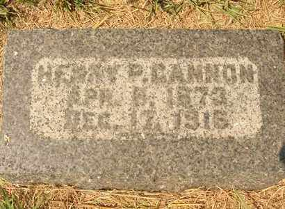 GANNON, HENRY P. - Hanson County, South Dakota | HENRY P. GANNON - South Dakota Gravestone Photos