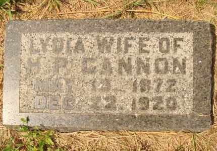 GANNON, LYDIA - Hanson County, South Dakota | LYDIA GANNON - South Dakota Gravestone Photos