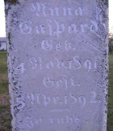 GASPARD, ANNA - Hanson County, South Dakota   ANNA GASPARD - South Dakota Gravestone Photos