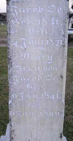 GASPARD OE, MARY - Hanson County, South Dakota | MARY GASPARD OE - South Dakota Gravestone Photos