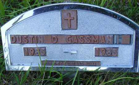 GASSMAN, DUSTIN D. - Hanson County, South Dakota | DUSTIN D. GASSMAN - South Dakota Gravestone Photos