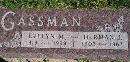 GASSMAN, EVELYN M. - Hanson County, South Dakota | EVELYN M. GASSMAN - South Dakota Gravestone Photos