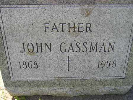 GASSMAN, JOHN - Hanson County, South Dakota | JOHN GASSMAN - South Dakota Gravestone Photos