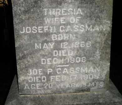GASSMAN, THRESIA - Hanson County, South Dakota | THRESIA GASSMAN - South Dakota Gravestone Photos