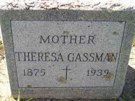 GASSMAN, THERESA - Hanson County, South Dakota | THERESA GASSMAN - South Dakota Gravestone Photos