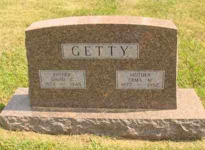 GETTY, DAVID C. - Hanson County, South Dakota | DAVID C. GETTY - South Dakota Gravestone Photos