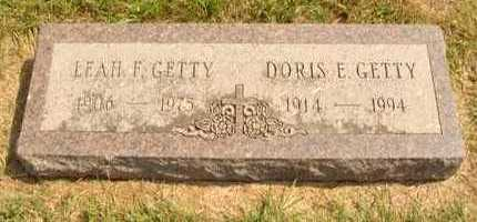 GETTY, DORIS E. - Hanson County, South Dakota | DORIS E. GETTY - South Dakota Gravestone Photos
