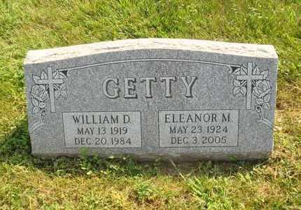 GETTY, WILLIAM D. - Hanson County, South Dakota   WILLIAM D. GETTY - South Dakota Gravestone Photos