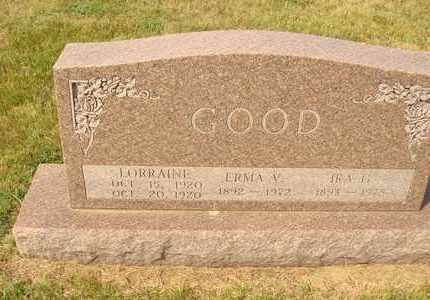 GOOD, ERMA V. - Hanson County, South Dakota | ERMA V. GOOD - South Dakota Gravestone Photos