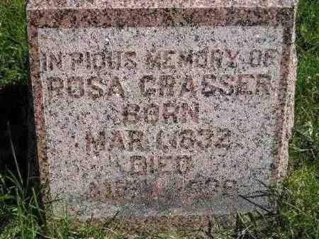 GRASSER, ROSA - Hanson County, South Dakota | ROSA GRASSER - South Dakota Gravestone Photos