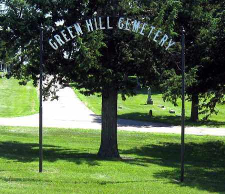 *GREENHILL, FRONT - Hanson County, South Dakota   FRONT *GREENHILL - South Dakota Gravestone Photos