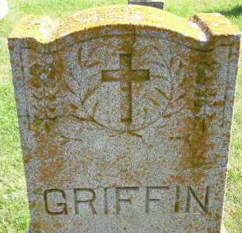GRIFFIN, FAMILY STONE - Hanson County, South Dakota | FAMILY STONE GRIFFIN - South Dakota Gravestone Photos