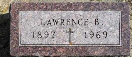 GRIFFIN, LAWRENCE B. - Hanson County, South Dakota   LAWRENCE B. GRIFFIN - South Dakota Gravestone Photos