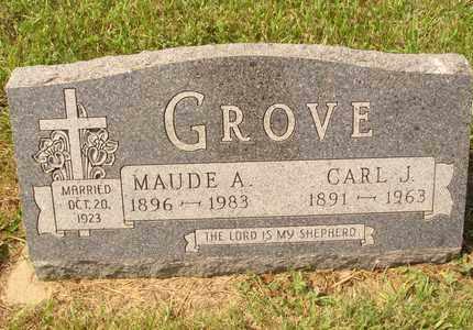 GROVE, CARL J. - Hanson County, South Dakota | CARL J. GROVE - South Dakota Gravestone Photos