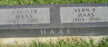 HAAS, VERN P. - Hanson County, South Dakota | VERN P. HAAS - South Dakota Gravestone Photos